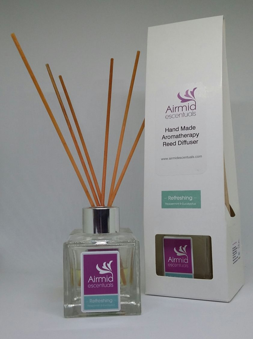 Refreshing Peppermint & Eucalyptus Diffuser