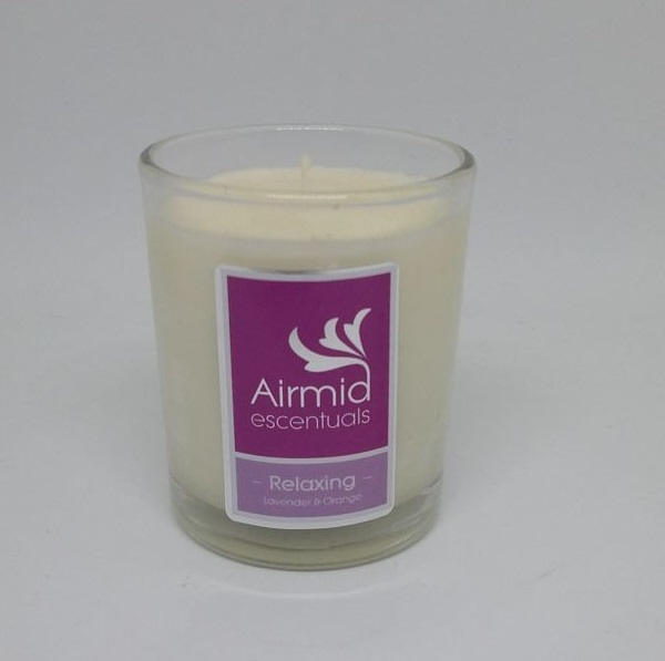 Relaxing Lavender & Orange Candle - 90mls