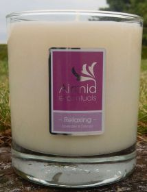 Relaxing Lavender & Orange Candle - 300mls