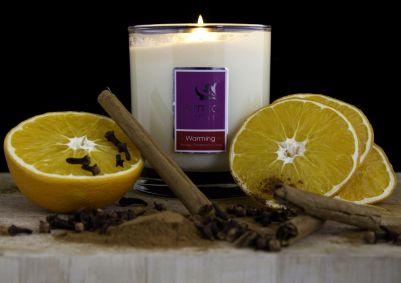 Warming Candle Orange, Cinnamon & Clove - 300mls