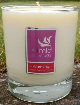 Warming Candle Orange, Cinnamon & Clove - 300mls