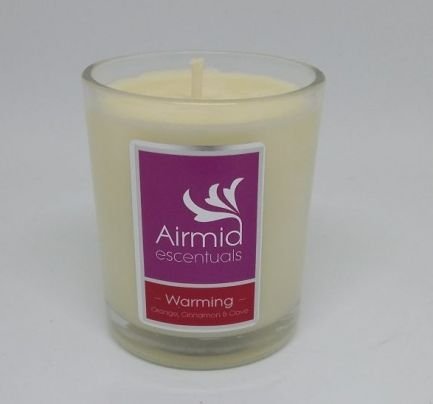 Warming Candle Orange, Cinnamon & Clove - 90ml