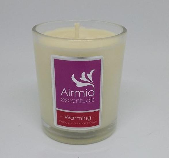Warming Candle Orange, Cinnamon & Clove - 90ml